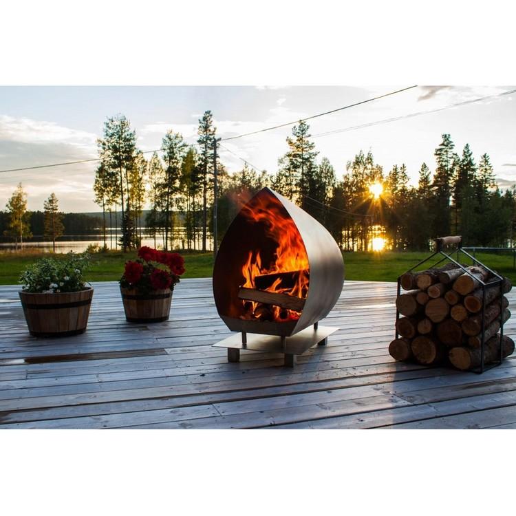 Garden Fire Magma Svart