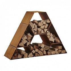 Garden Fire Vedförvaring HT - Pyramid - Liten
