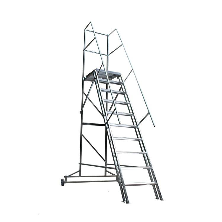 Skeppshultstegen Proffs Trappa Med Skyddsräcke 1,2-3M HB