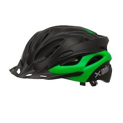 Briv Cykelhjälm BR1M - Svart/Grön