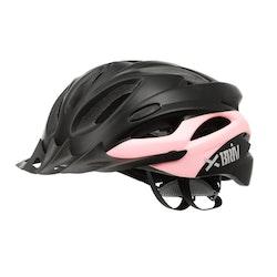 Briv Cykelhjälm BR1M - Svart/Rosa