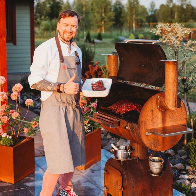 GrillSymbol Smoky Beast BBQ Rökgrill