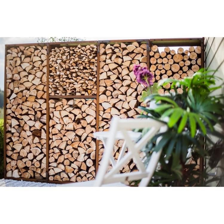 Vedförvaring WoodStock Wall XL