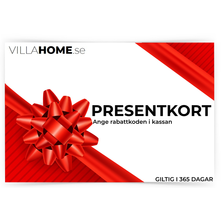 Presentkort Villahome.se
