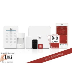 Sikkerthjem S6evo Larmsystem Lägenhetspaket