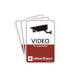 Sikkerthjem 3 x Preventiva Videodekaler