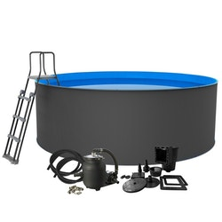 Swim & Fun Pool Santorini XL 120 cm Djup