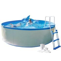 Swim & Fun Pool Kreta inkl Pump 90 cm Djup