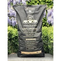 Habanero Grillkol Quebracho 15kg, Organic