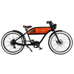 Michael Blast The Greaser 250W Svart/Orange El-Cykel