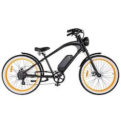 Michael Blast The Vacay High 500W Svart/Orange El-Cykel