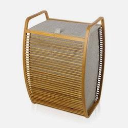 Möve Tvättkorg Bamboo Ribbad