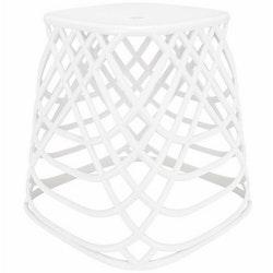 Kleine Wolke Pall/Tvättkorg Scandic Chair White