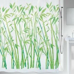 Spirella Duschdraperi Bambus Green
