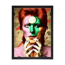 Glasvision Glastavla David Bowie