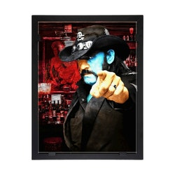 Glasvision Glastavla Lemmy