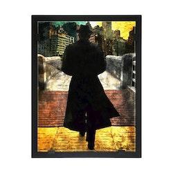 Glasvision Glastavla Leonard Cohen