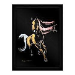 Glasvision Glastavla Shimmer Horse