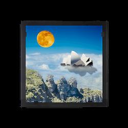 Glasvision Glastavla Moon Shadow