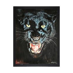 Glasvision Glastavla Black Panther
