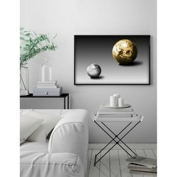 Estancia Poster Gold Moon and Earth