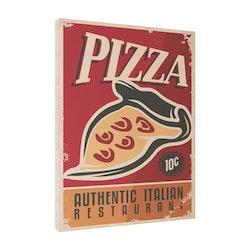 Estancia Tavla Canvas Retro Food Pizza