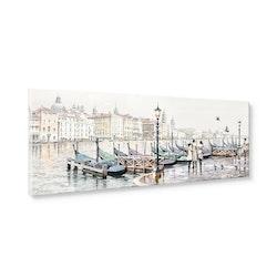 Estancia Tavla Canvas Venice Harbour
