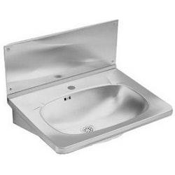 Ifö Stänkplåt Tvättställ RM-6 Rostfritt Stål