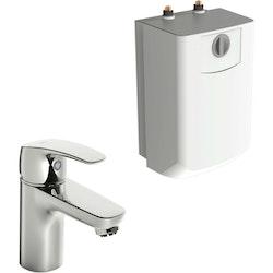 Oras Tvättställsblandare Safira med Varmvattenberedare