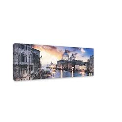Estancia Tavla Canvas Blue Venice
