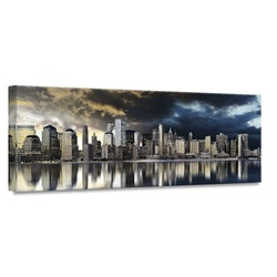 Estancia Tavla Canvas Manhattan Gold City