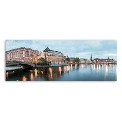 Estancia Tavla Canvas Swedens Parliament