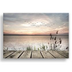 Estancia Tavla Canvas Flying Birds