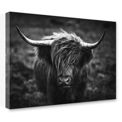 Estancia Tavla Canvas Highland Horns