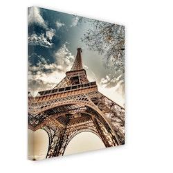 Estancia Tavla Canvas Paris Eiffel