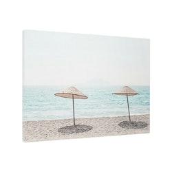 Estancia Tavla Canvas Warm Beach