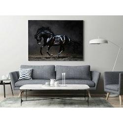 Estancia Tavla Canvas Black Horse