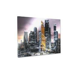 Estancia Tavla Canvas Gold Tower