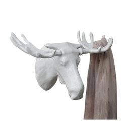 Bosign Väggkrok Moose Vit