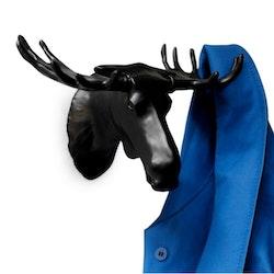 Bosign Väggkrok Moose Svart