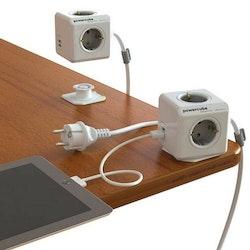 Allocacoc Skarvsladd PowerCube Utökad USB