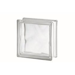 Glasbetong Glasblock Molndekor Ofärgad 10 st