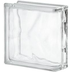 Glasbetong Glasblock Molndekor Ändblock Ofärgad 10 st