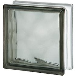 Glasbetong Glasblock Molndekor Grå 10 st