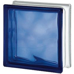 Glasbetong Glasblock Molndekor Mörkblå 10 st