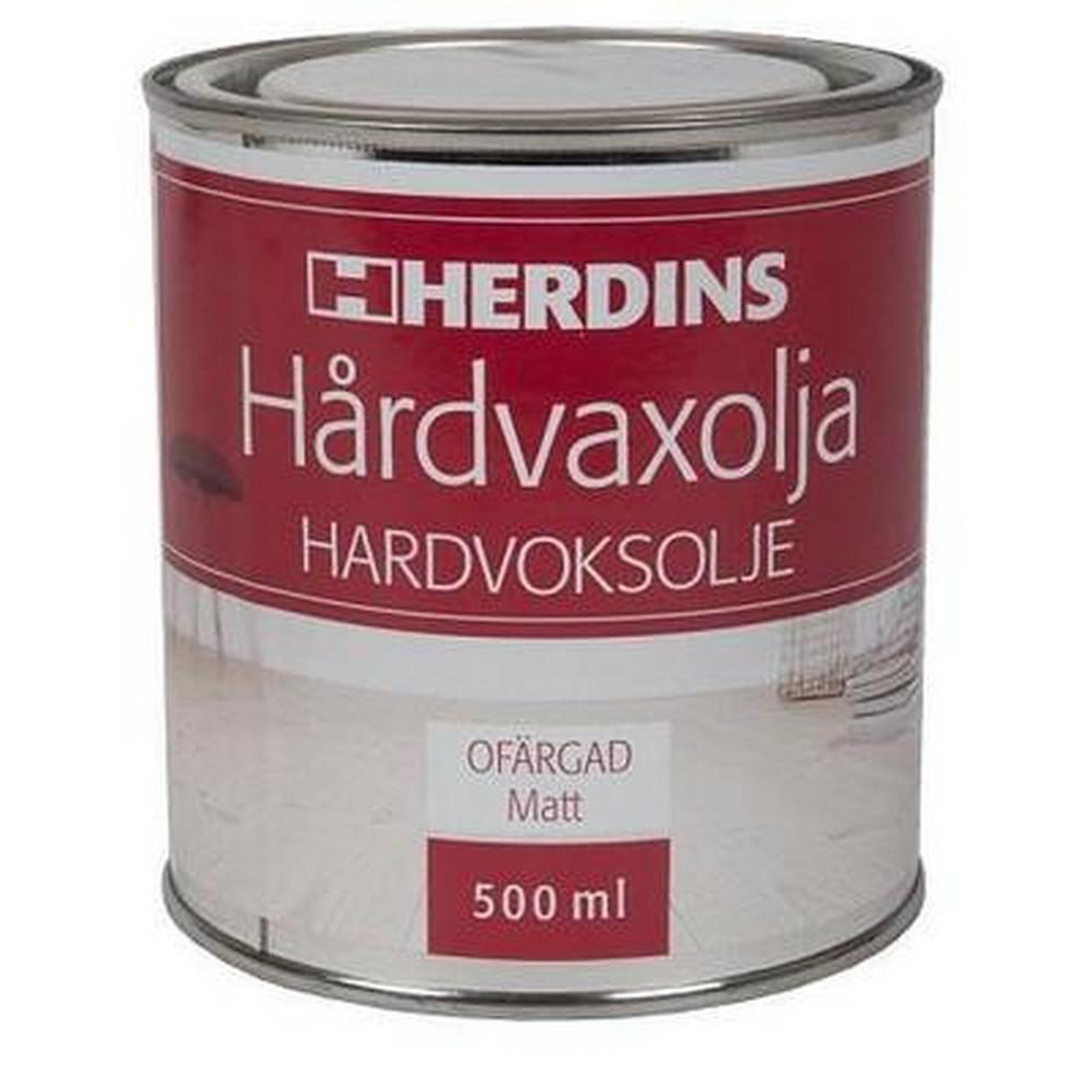 Herdins Hårdvaxolja Natur 500 ml