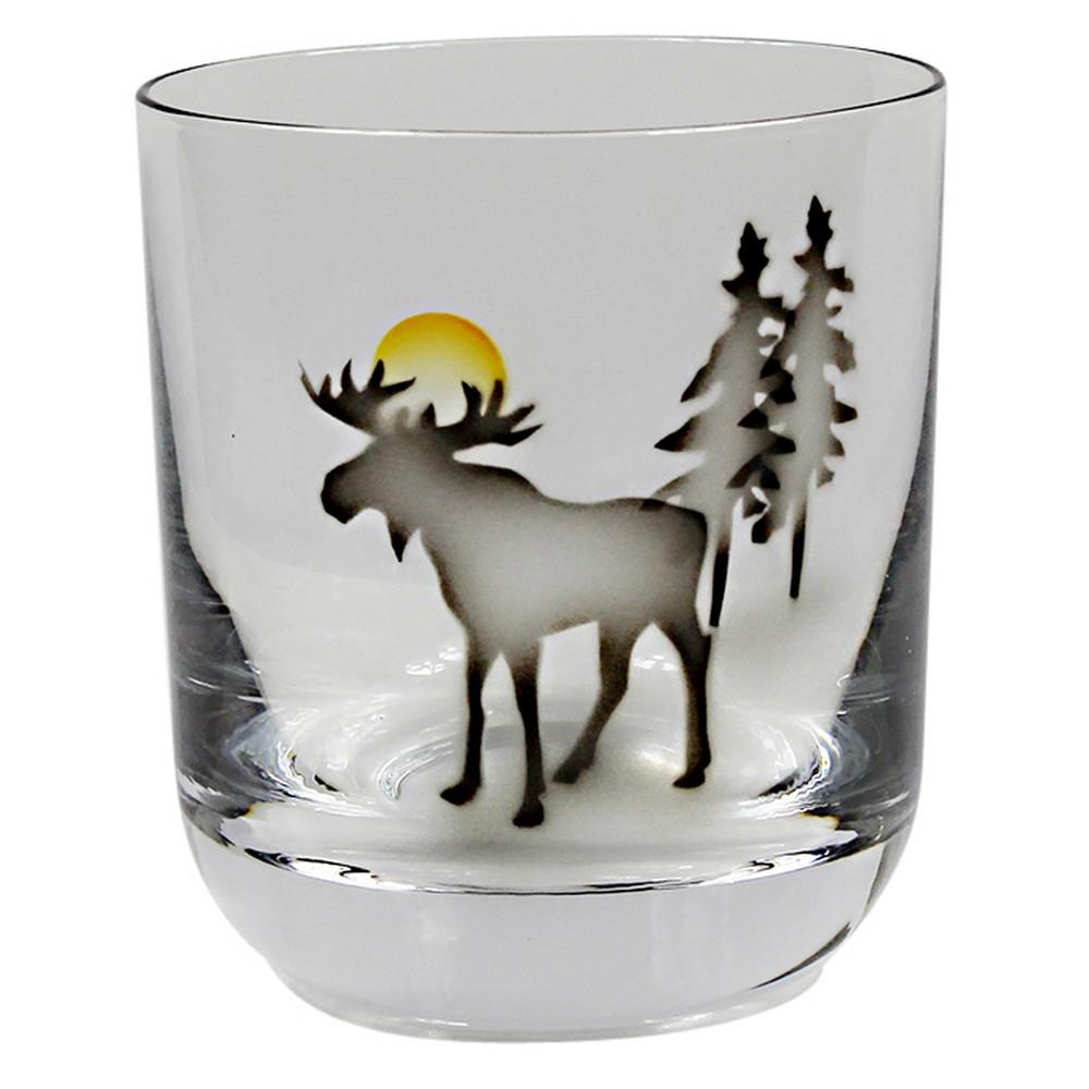 Nybro Crystal Whiskyglas Älg
