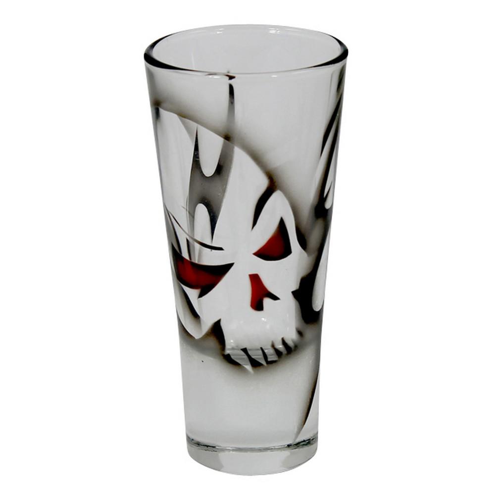 Nybro Crystal Shotglas Dödskalle