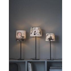 PR Home Bordslampa Base Matt Svart