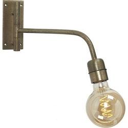 PR Home Vägglampa Base Beaten Gold